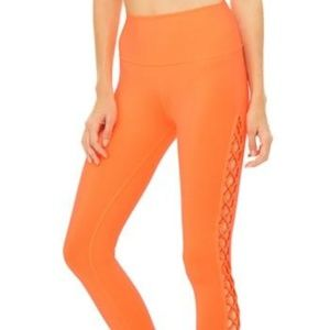 ALO YOGA Interlace Leggings in Starburst